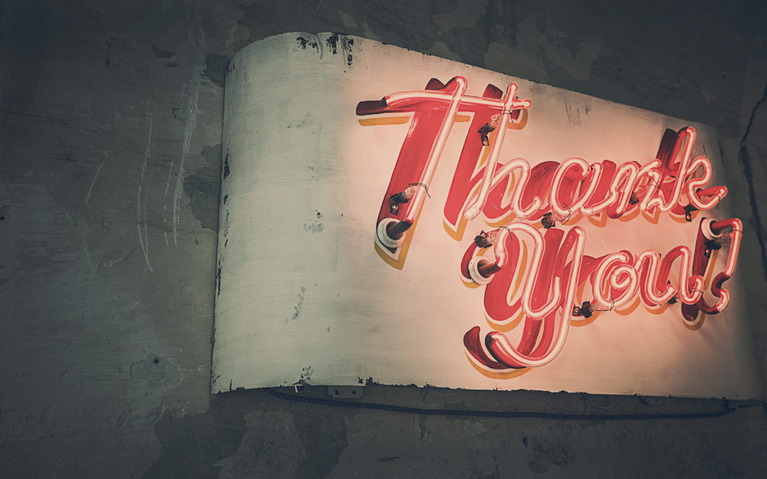 """Thank You"" is Free, and Other Ideas for Recognition at Work"