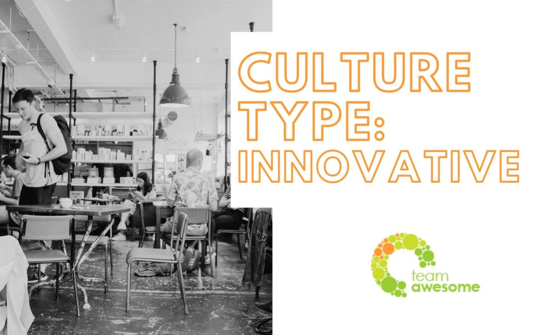 What Type of Culture is Your Team? Innovative Culture [2 of 4]
