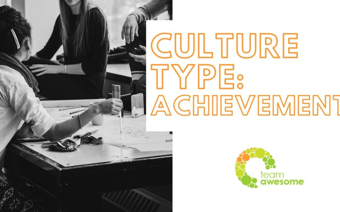 What Type of Culture is Your Team? Achievement Culture [3 of 4]
