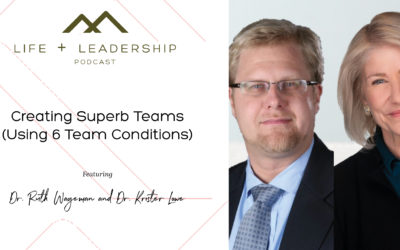 Creating Superb Teams (Using 6 Team Conditions), with Dr. Ruth Wageman and Dr. Krister Lowe